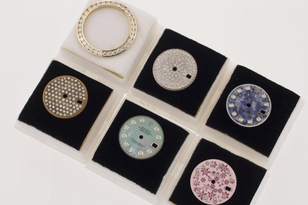 Custom Rolex dials and bezels