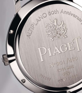 Piaget Altiplano 60th Anniversary Manual Caseback