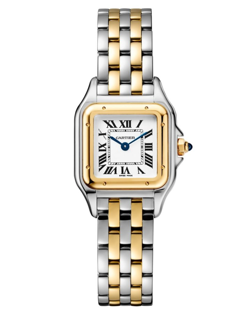 Panthere de Cartier Steel Gold Two-Tone Small