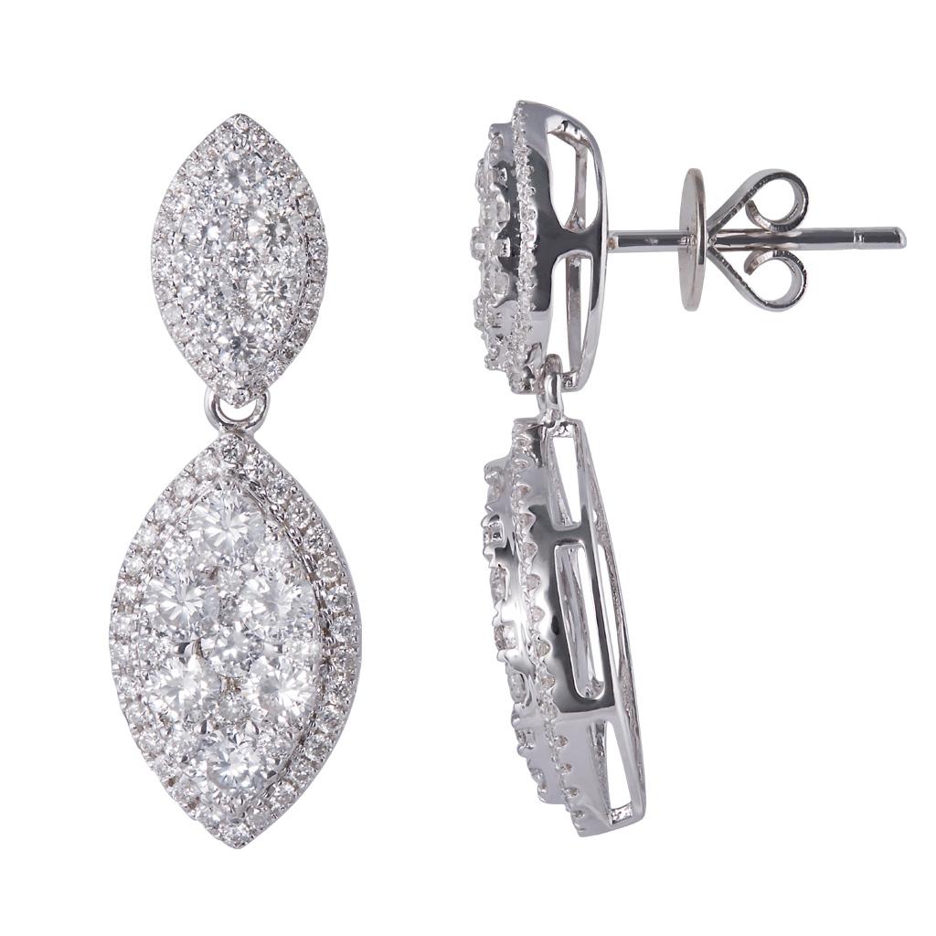 18k-White-Gold-hanging-diamond-earrings