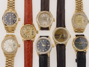 Customed Rolex Watches Bands, Bezels, and Dials