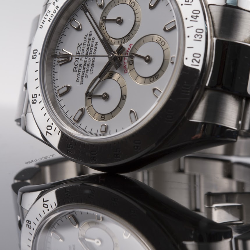 Rolex Daytona reflection