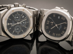 Genta designs: Patek Philippe Nautilus and the Audemars Piguet Royal Oak