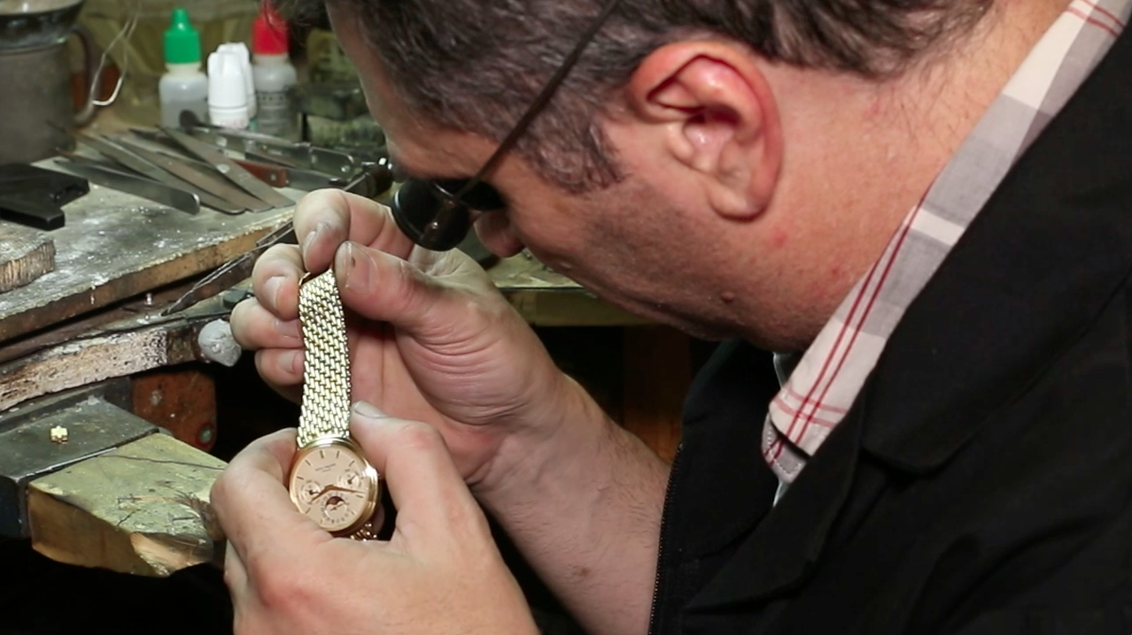 Patek Philippe Bracelet Lengthening and Rebuilding