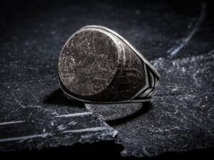 David Yurman Meteorite Ring