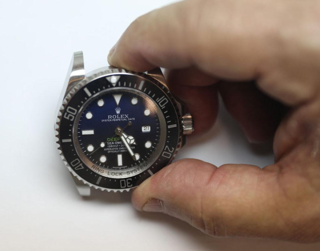 Example of fake Rolex Deepsea