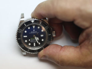 Example of fake Rolex Deepsea