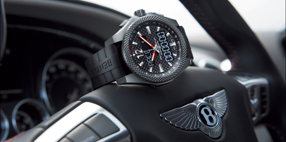 Breitling watch for Bentley Supersports B55