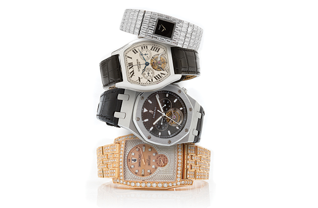 Watches $100,000 and above