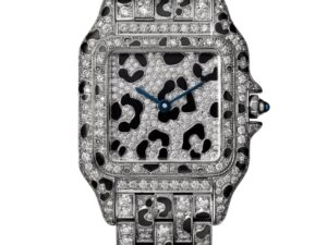 Panthere de Cartier White Gold Diamonds Medium