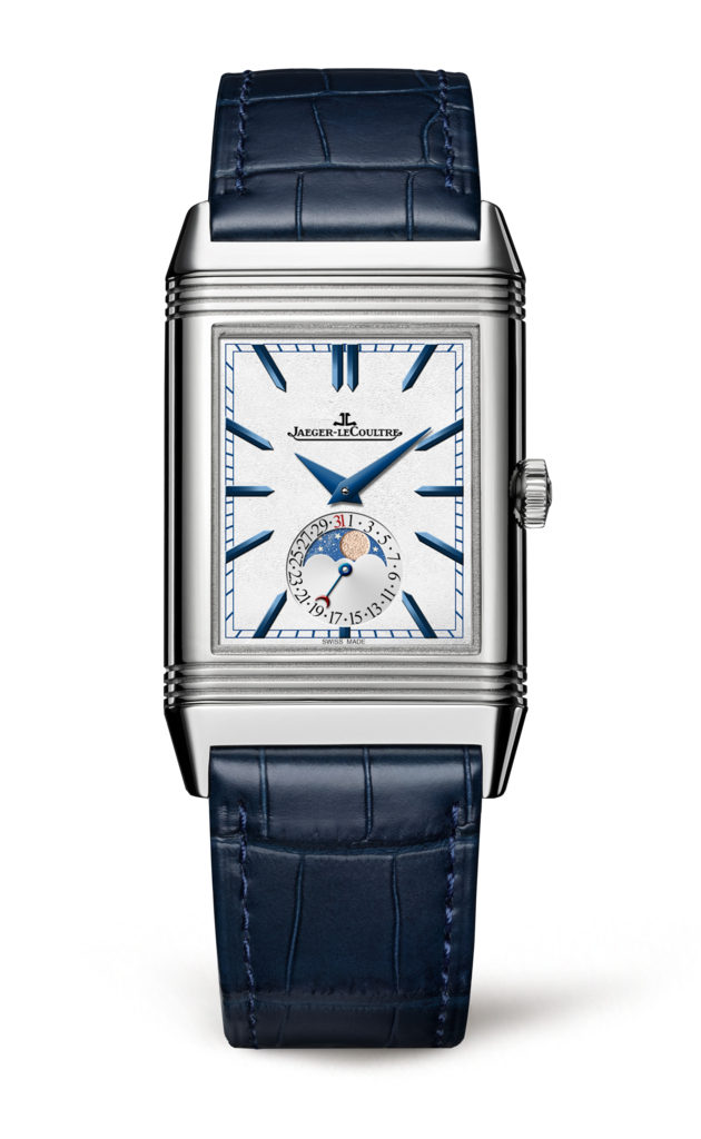 2017Jaeger-LeCoultre Watch Reverso Tribute Moon Front. (Image courtesy of Jaeger-LeCoultre)