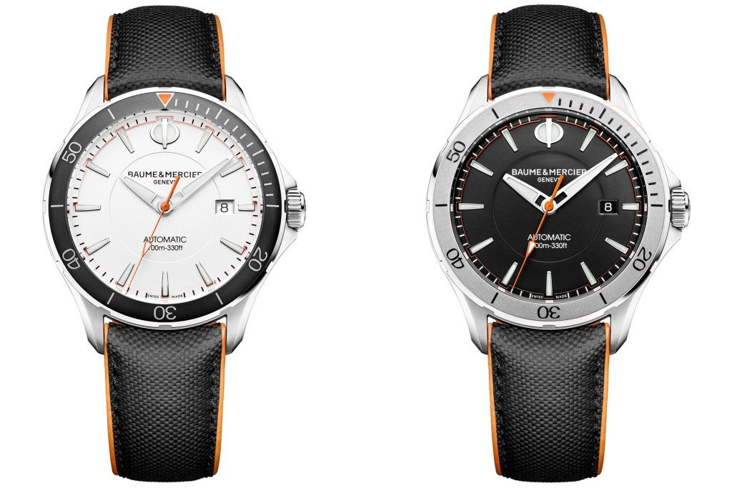 Baume & Mercier Clifton Club Leather Strap. (Image courtesy of Baume & Mercier)