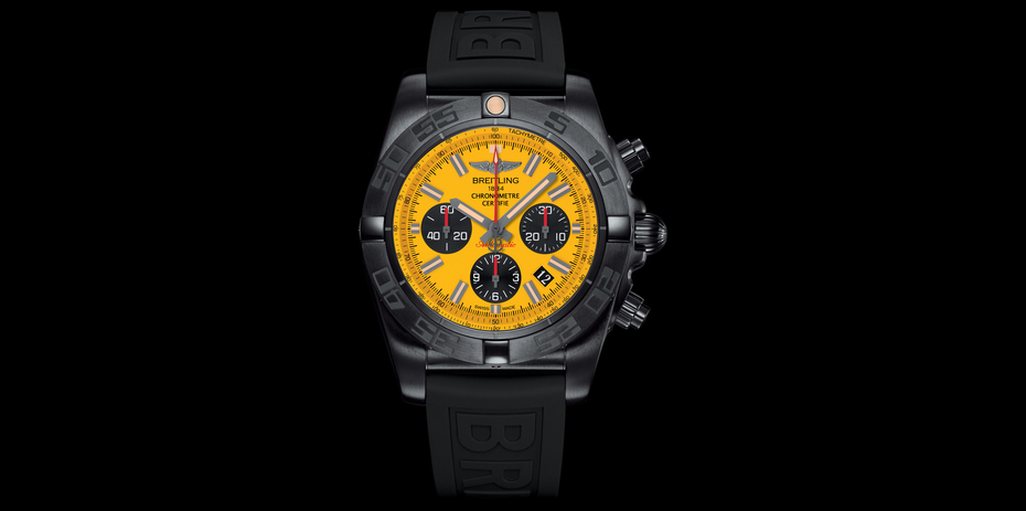Breitling Chronomat 44 Blacksteel special edition. (Image coutesy of Breitling)