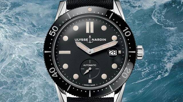 Diver Le Locle Ulysse Nardin Watch