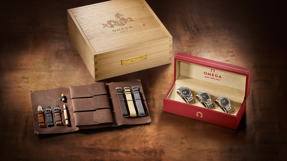 Trilogy 1957 Box Set OMEGA Watches Baselworld 2017