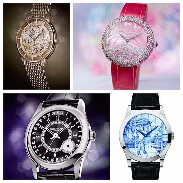 Four new Calatrava Patek Watches