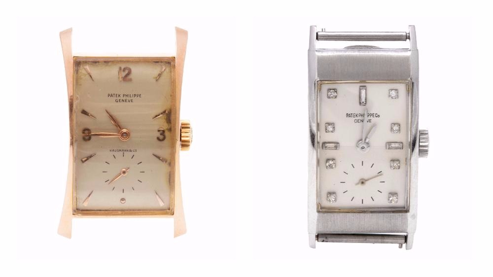 Rare vintage Patek Philippe watches
