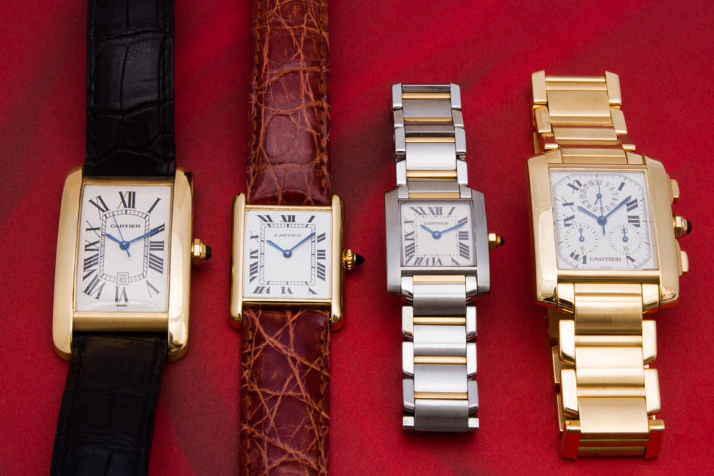 Guide to Different Cartier Watches