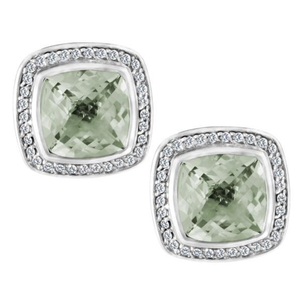 David Yurman Sterling Silver Earrings