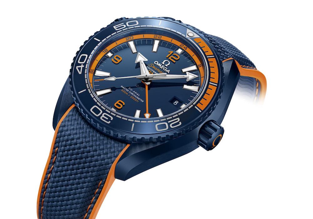"Baselworld 2017 OMEGA Seamaster Planet Ocean ""Big Blue"""