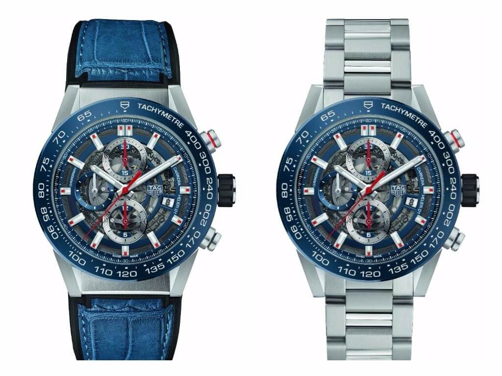 new for 2017 tag heuer carrera heuer 01 43mm. Black Bedroom Furniture Sets. Home Design Ideas