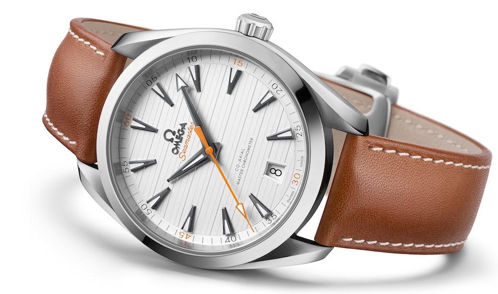The new 41mm OMEGA Seamaster Aqua Terra Chronometer in stainless steel