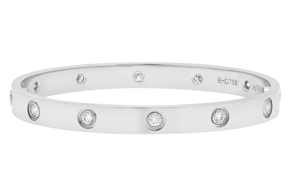 How to spot a fake Cartier Love Bracelet