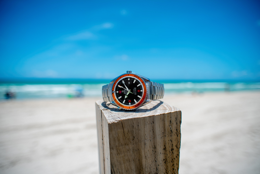 Sporty Watches: OMEGA Seamster Planet Ocean