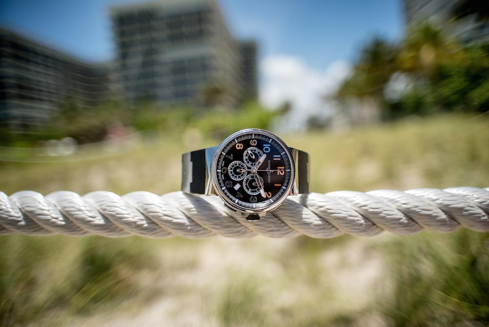 Sporty Watches for Summer: Ulysse Nardin Marine 1503-150