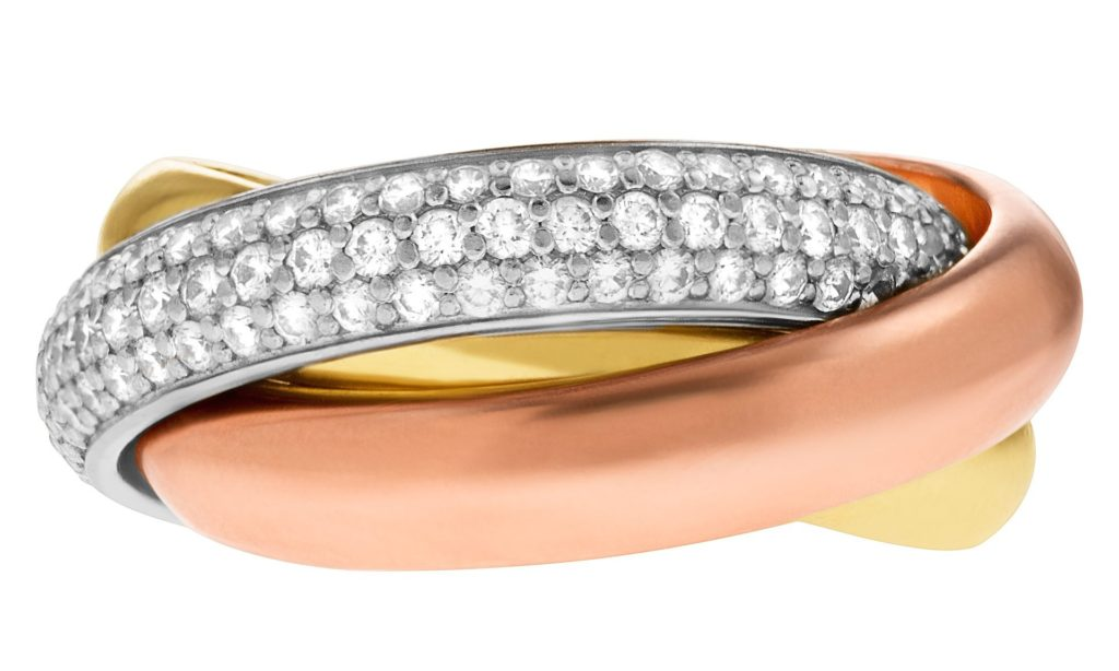 Cartier Jewelry Trinity Ring
