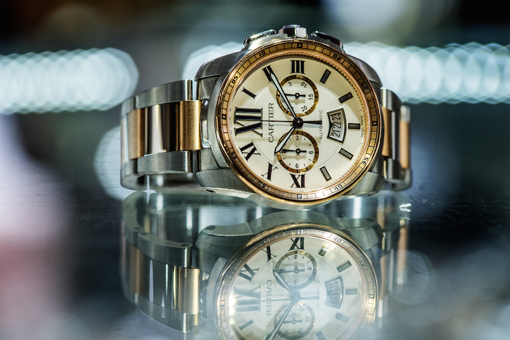 Calibre de Cartier Two-Tone Luxury Chronograph
