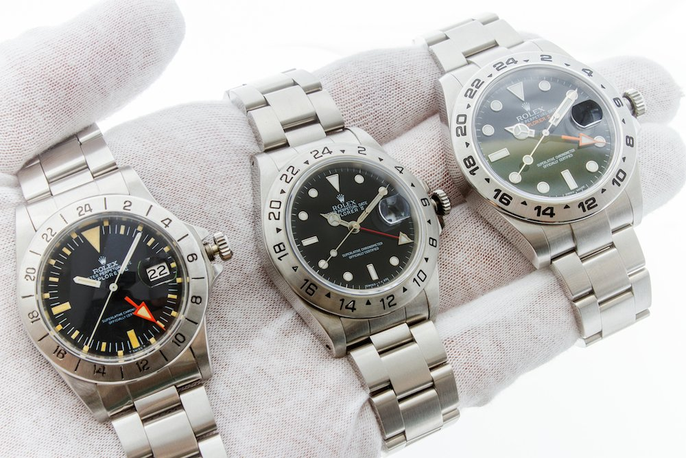 History and Evolution of the Explorer II: 1655, 16570, and 216570