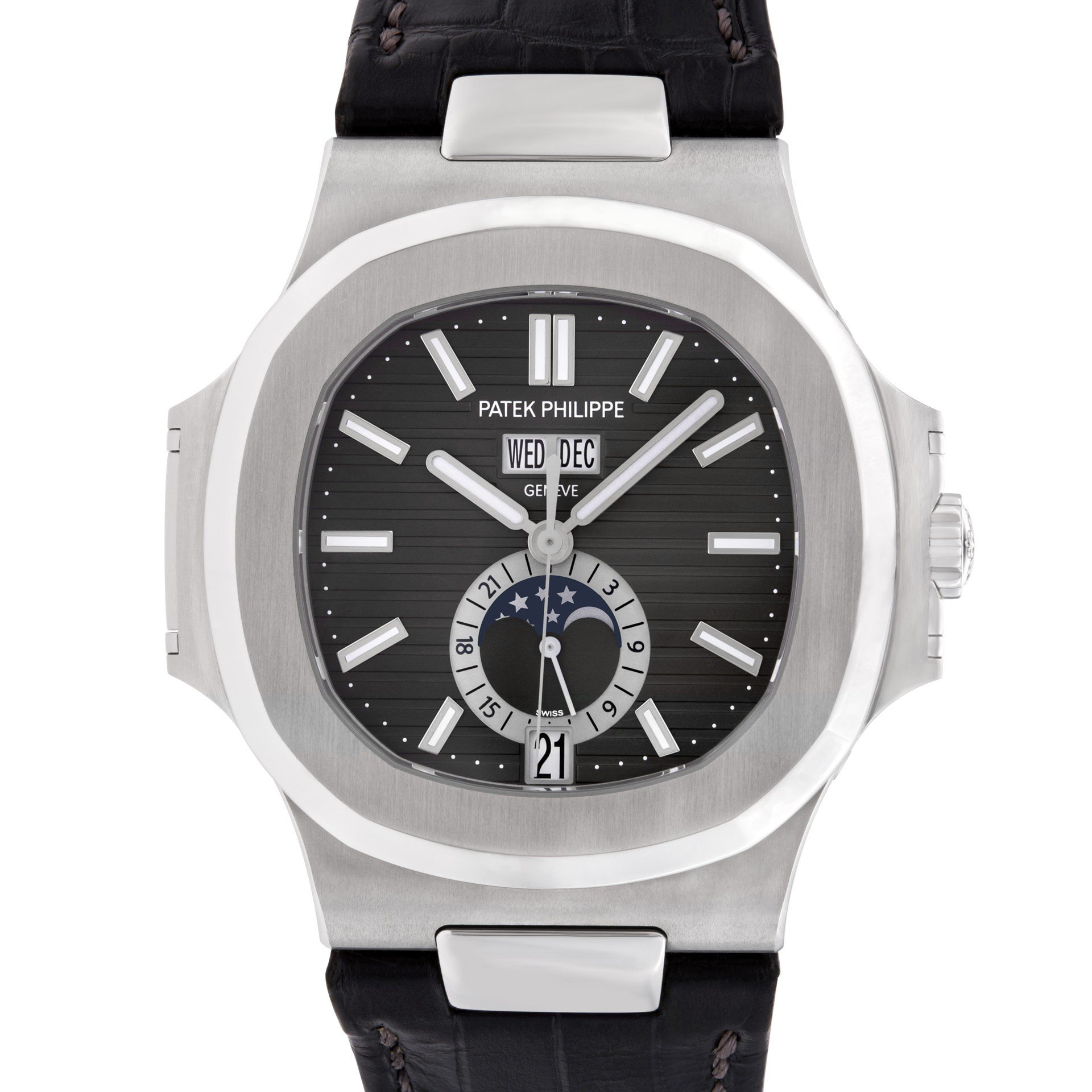 Patek philippe nautilus annual calendar ref 5726 gray sons for Patek philippe