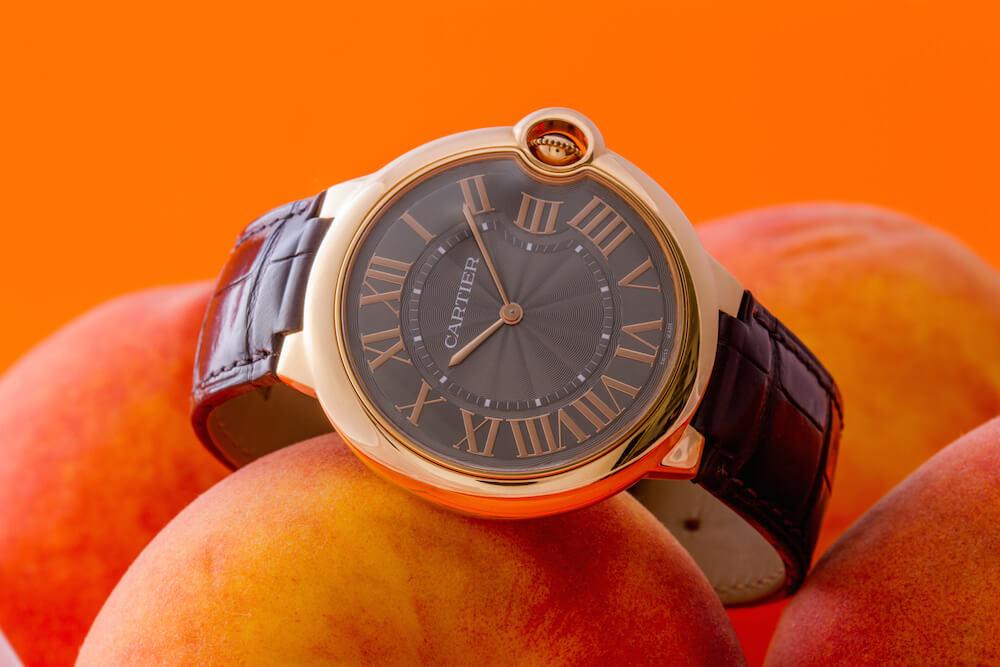 Cartier Ballon Bleu Rose Gold Watch