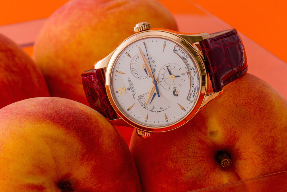 Jaeger-LeCoultre Master Control Geographic Rose Gold Watch