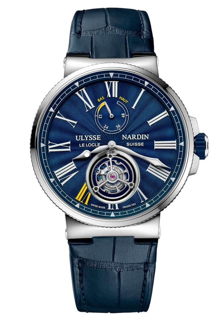 Only Watch 2017 Ulysse Nardin Marine Tourbillon