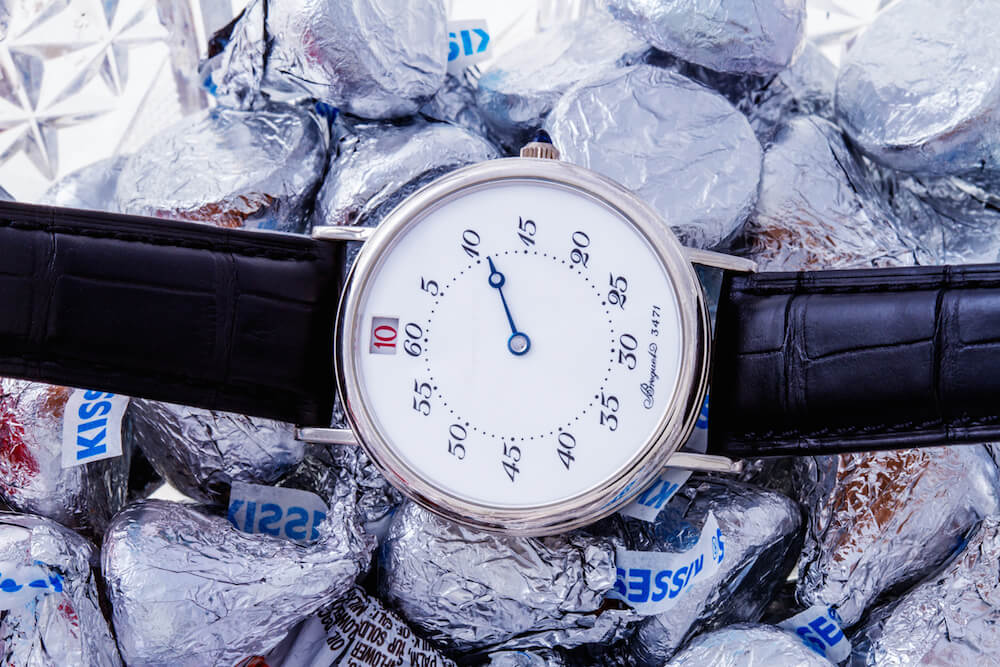 Breguet Jump Hours ref. 3420 Platinum Watches