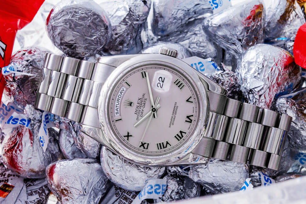 Rolex Day-Date President ref. 118206 Platinum Watches