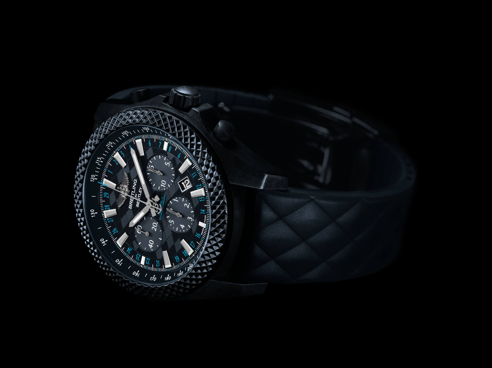 Take A Drive With The New Breitling For Bentley GT Dark