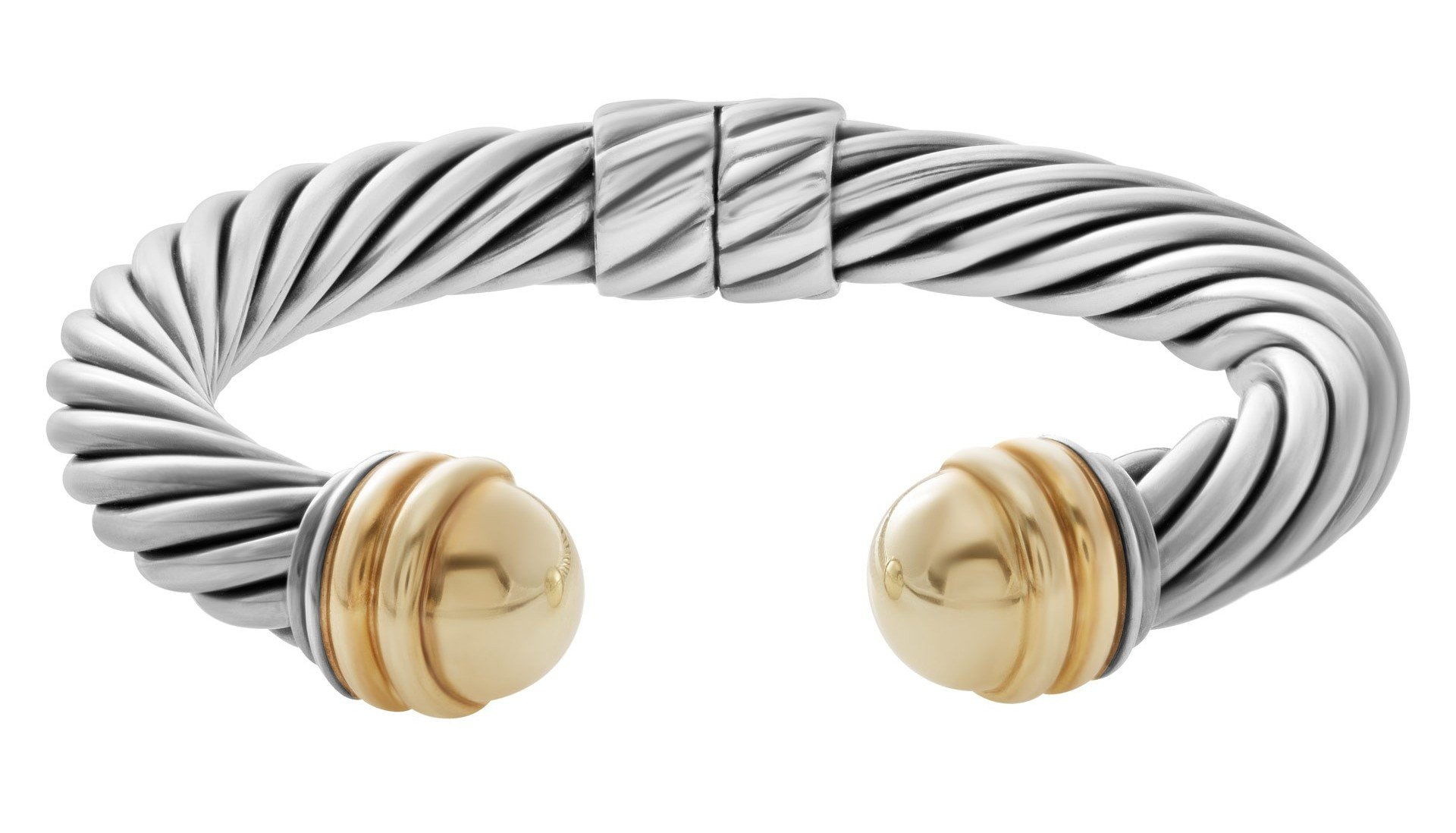 Jewelry icons david yurman cable jewelry for David yurman inspired bracelet cable