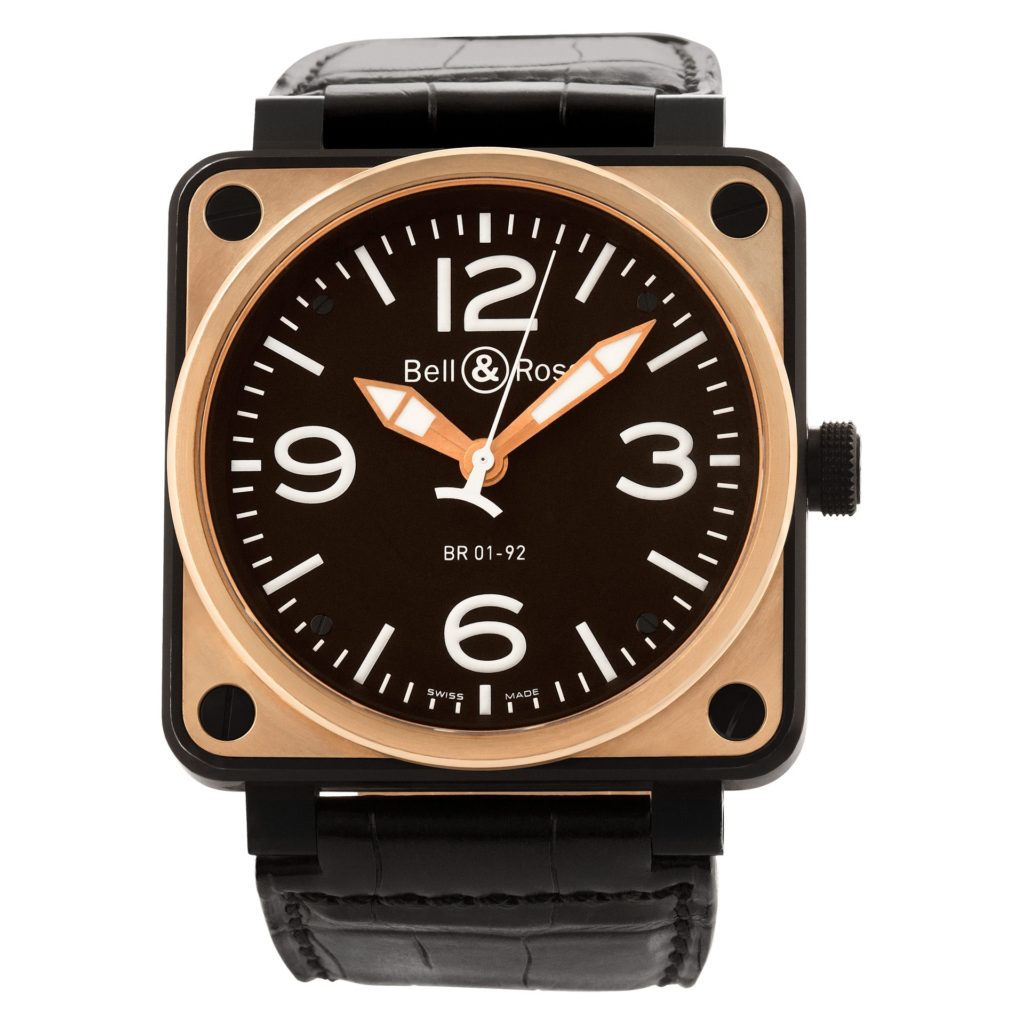 Square Watches for Men: Bell & Ross BR-01