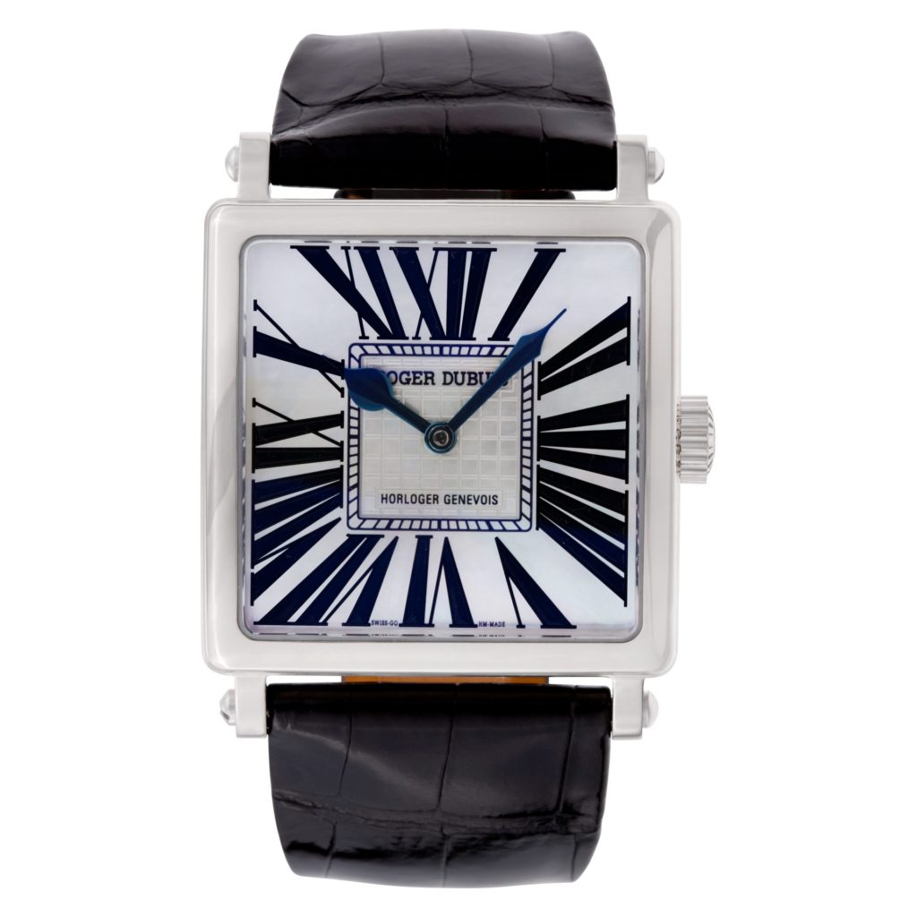 Square Watches for Men: Roger Dubuis Golden Square