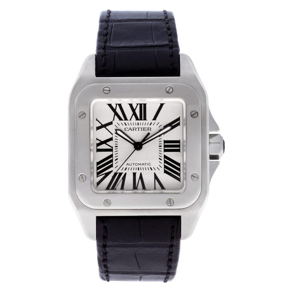 Square Watches for Men: Cartier Santos
