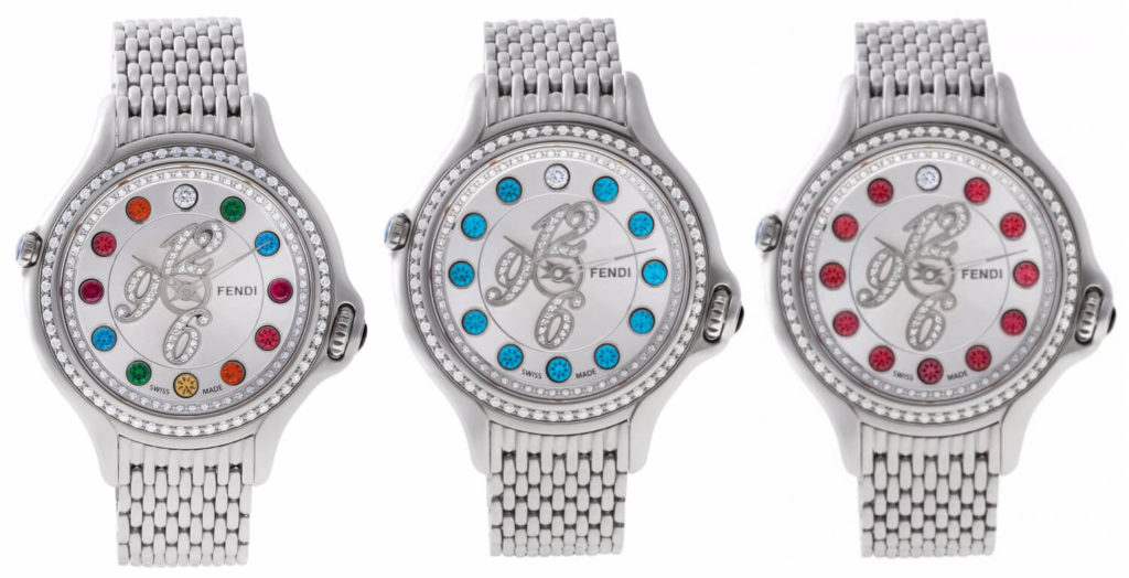Fendi Crazy Carats: One Watch, Three Looks