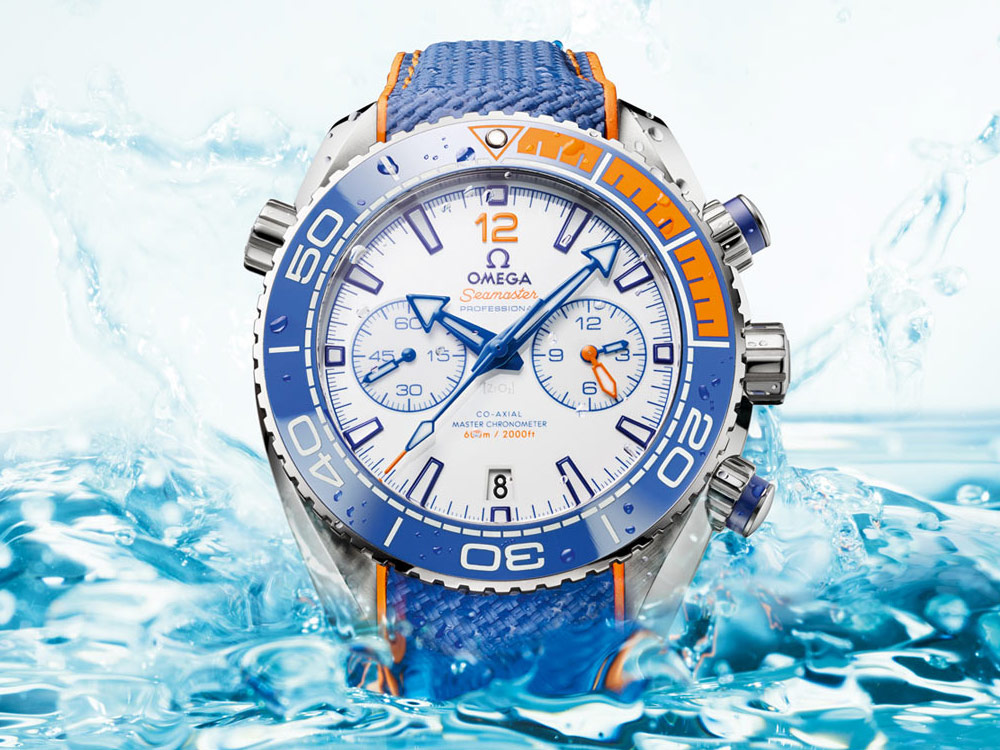 Omega Seamaster Planet Ocean Michael Phelps