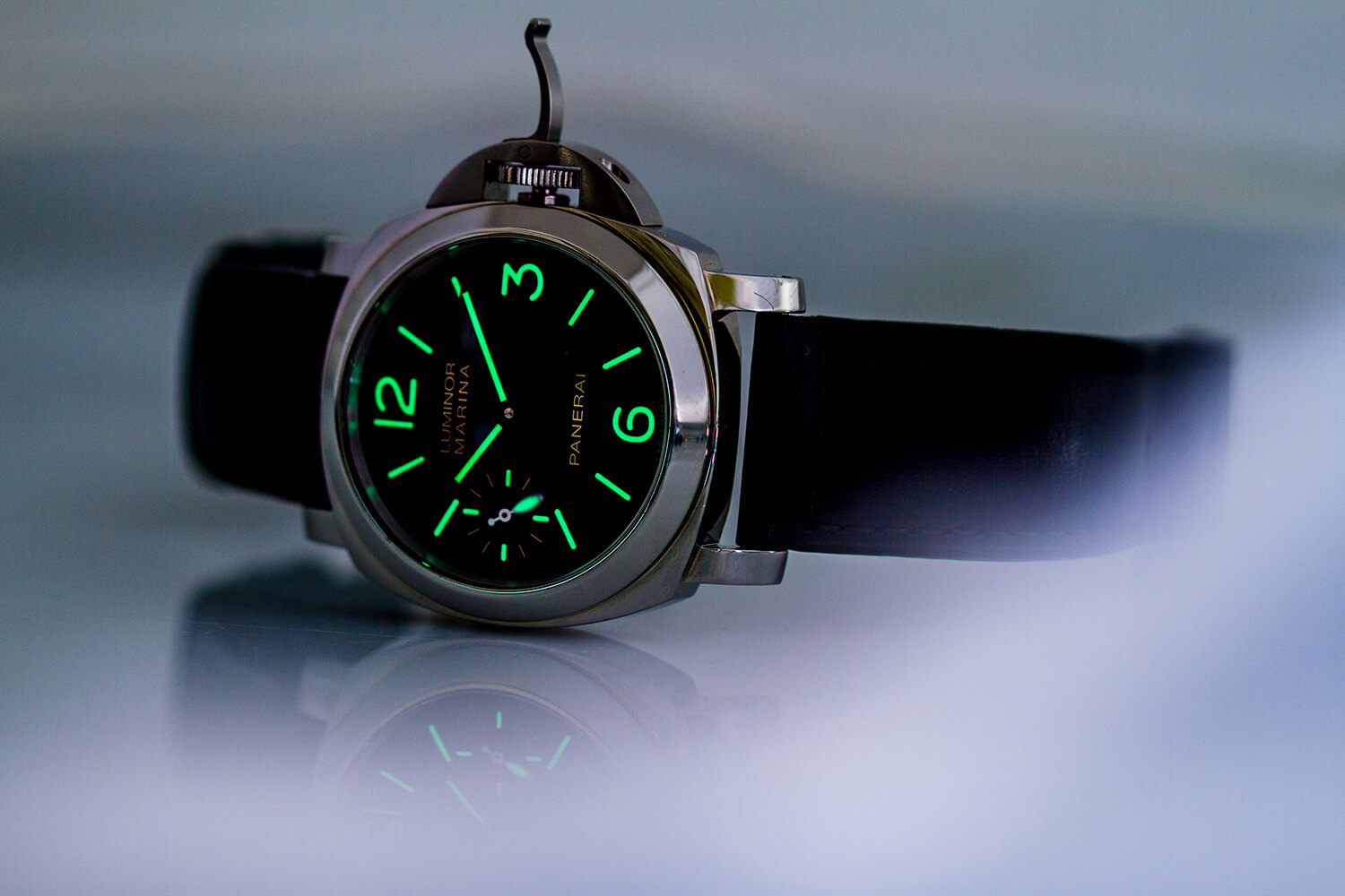 picking the right panerai luminor base marina submersible or gmt gray sons. Black Bedroom Furniture Sets. Home Design Ideas