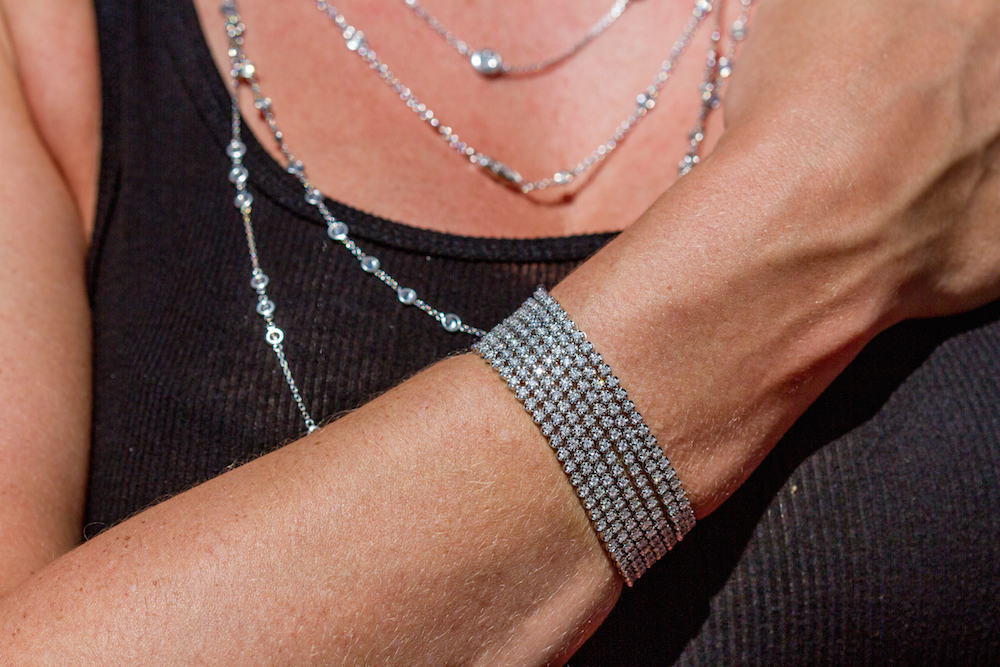 Add a Diamond By the Yard Necklace (or two) to your Christmas wish list