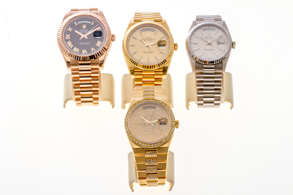 A Variety of Rolex Day-Date President Watches