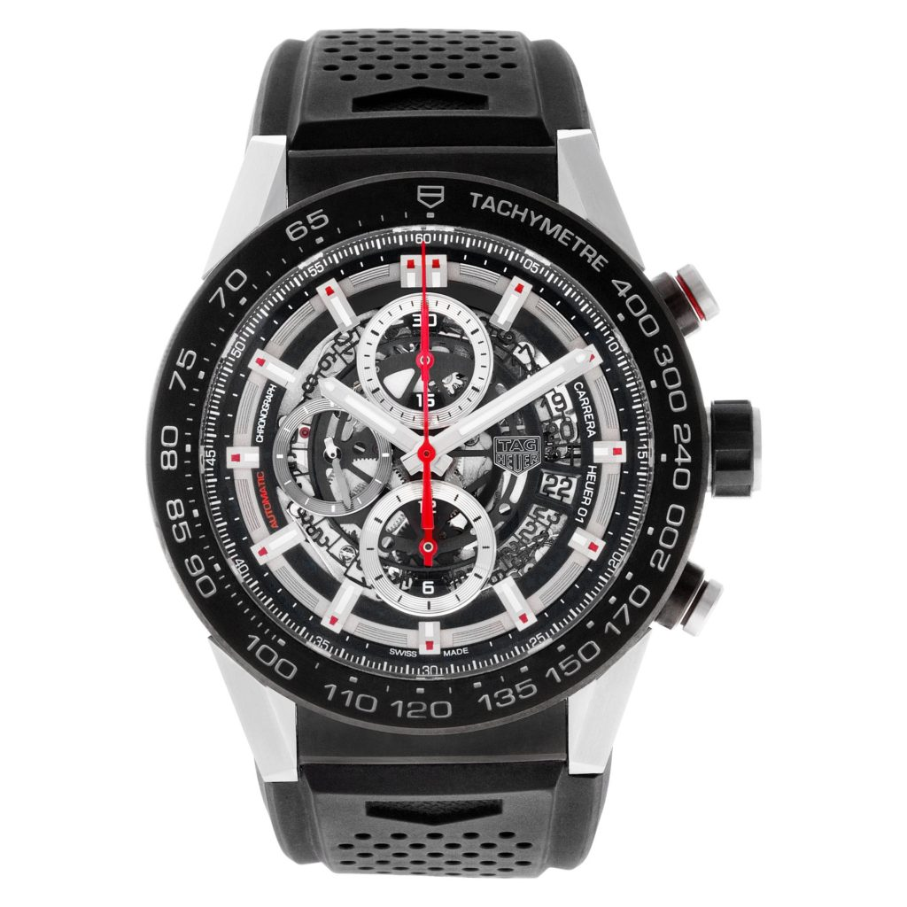 Car Inspired Watches: Tag Heuer Calibre Carrera Heuer 01