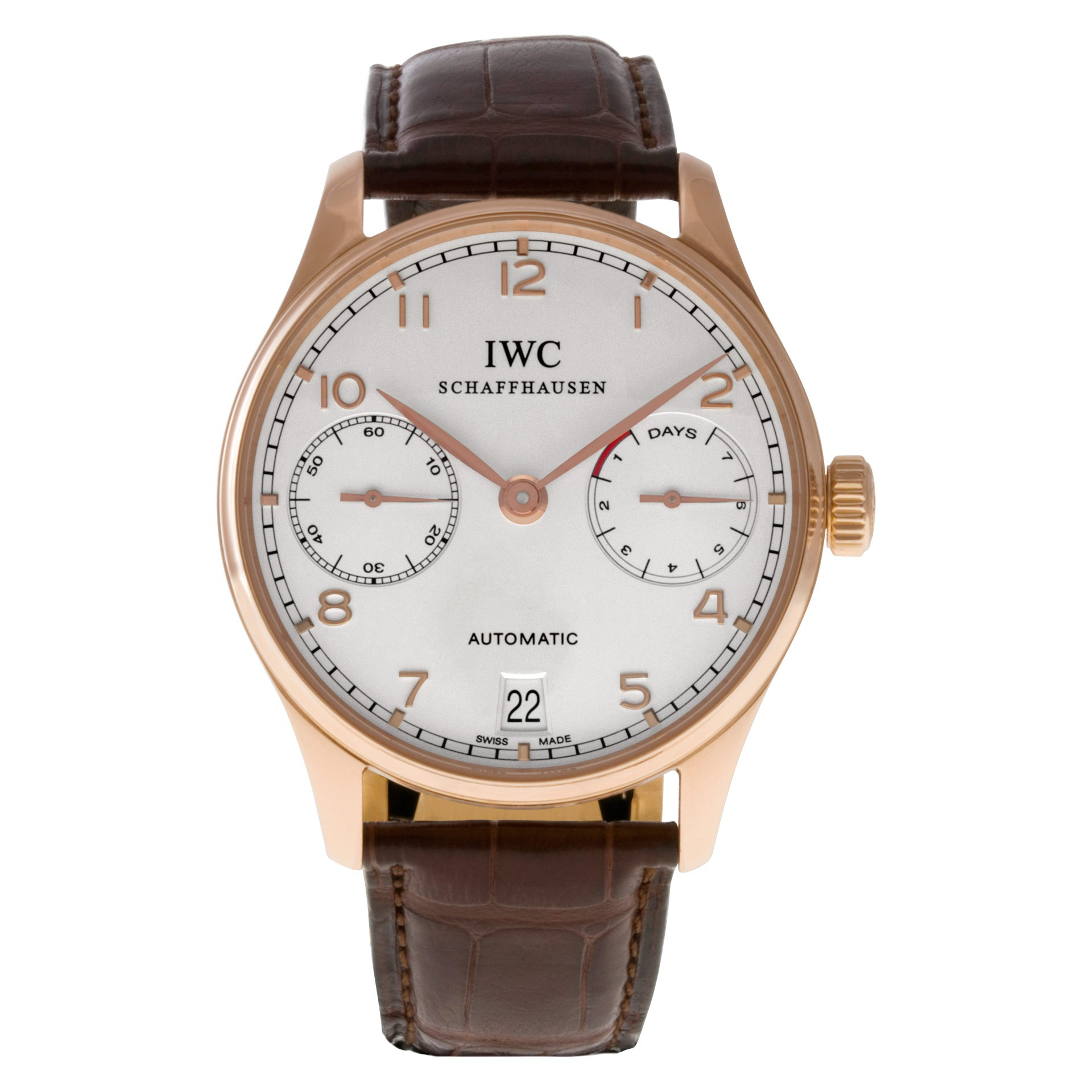 Elegant Watches for Men IWC Portugieser ref. IW500113